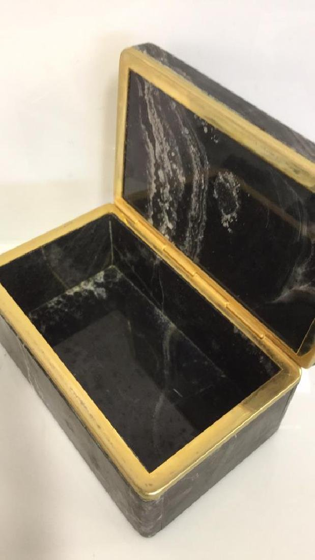 Chiarugi&C Italian Onyx Trinket Box - 6