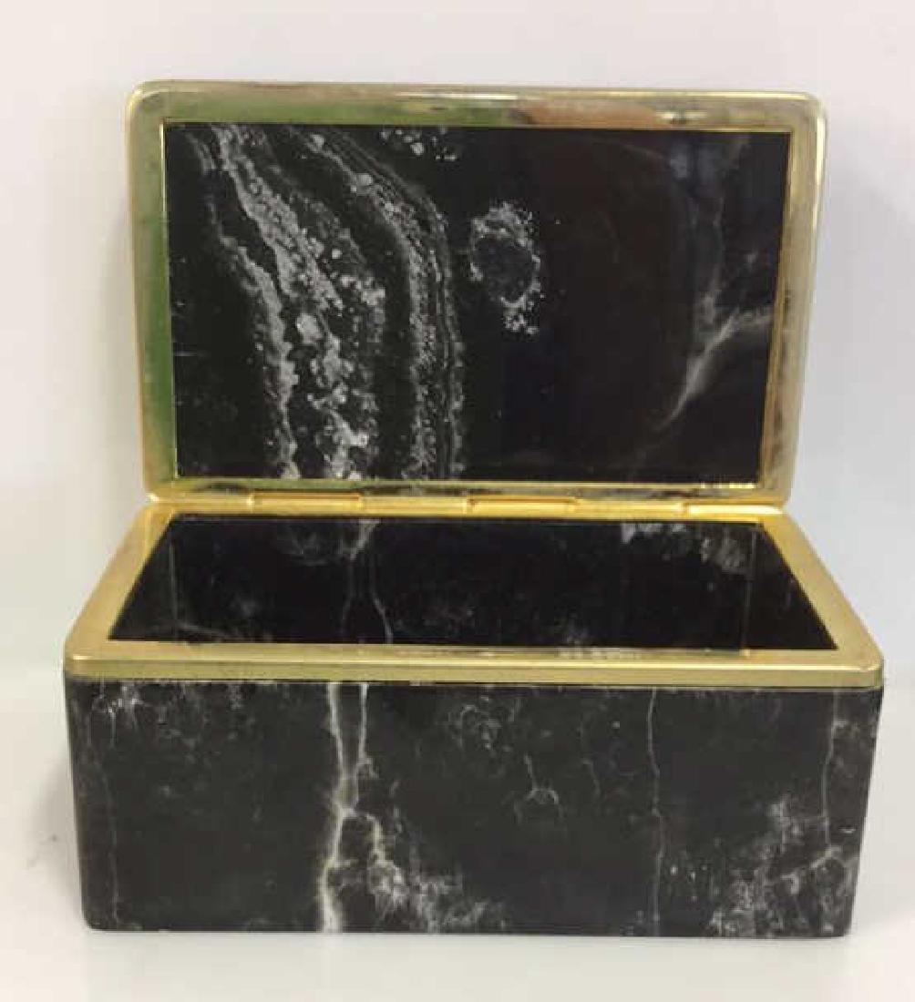 Chiarugi&C Italian Onyx Trinket Box - 7