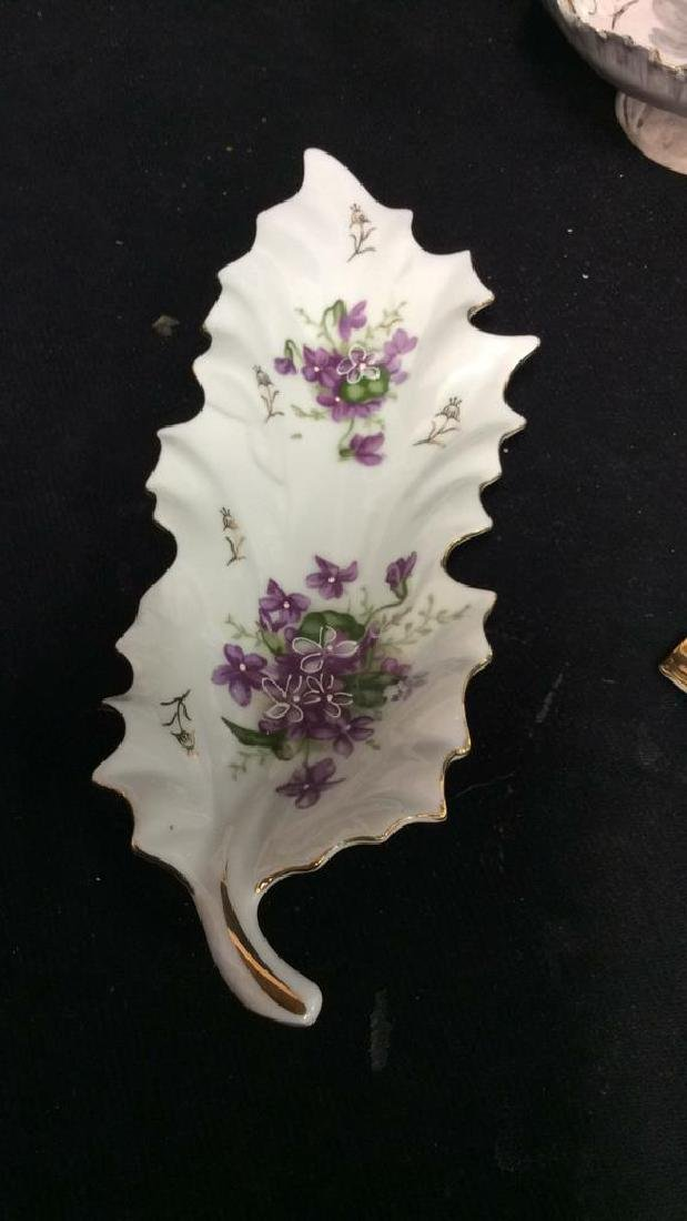 Group Lot Mixed Porcelain Table Tops - 4