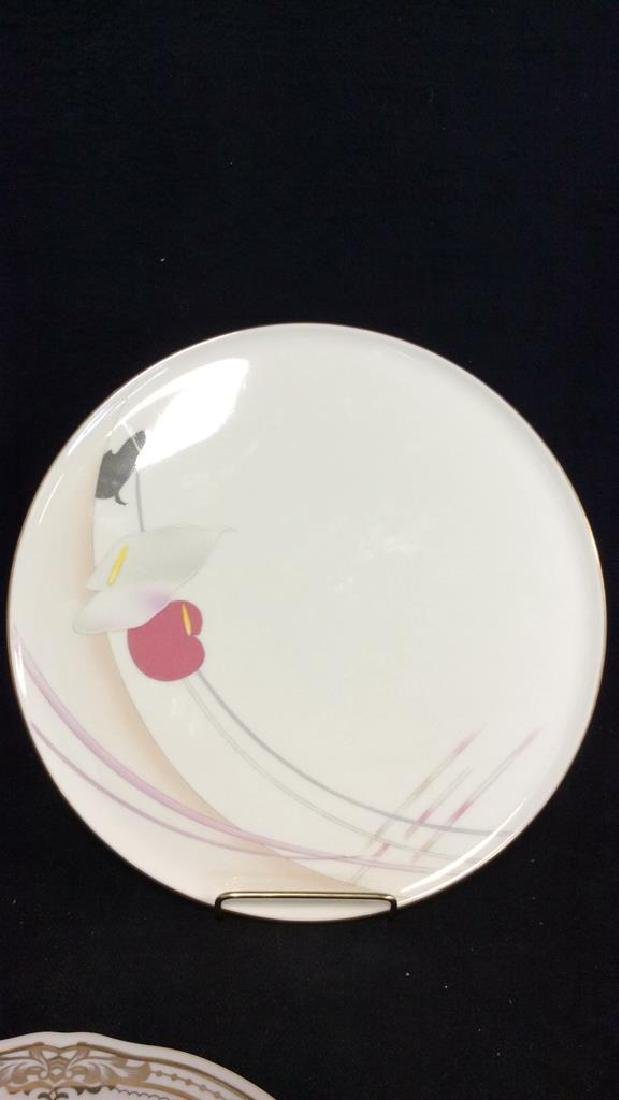 MIKASA Bone China Floral Serving Platter