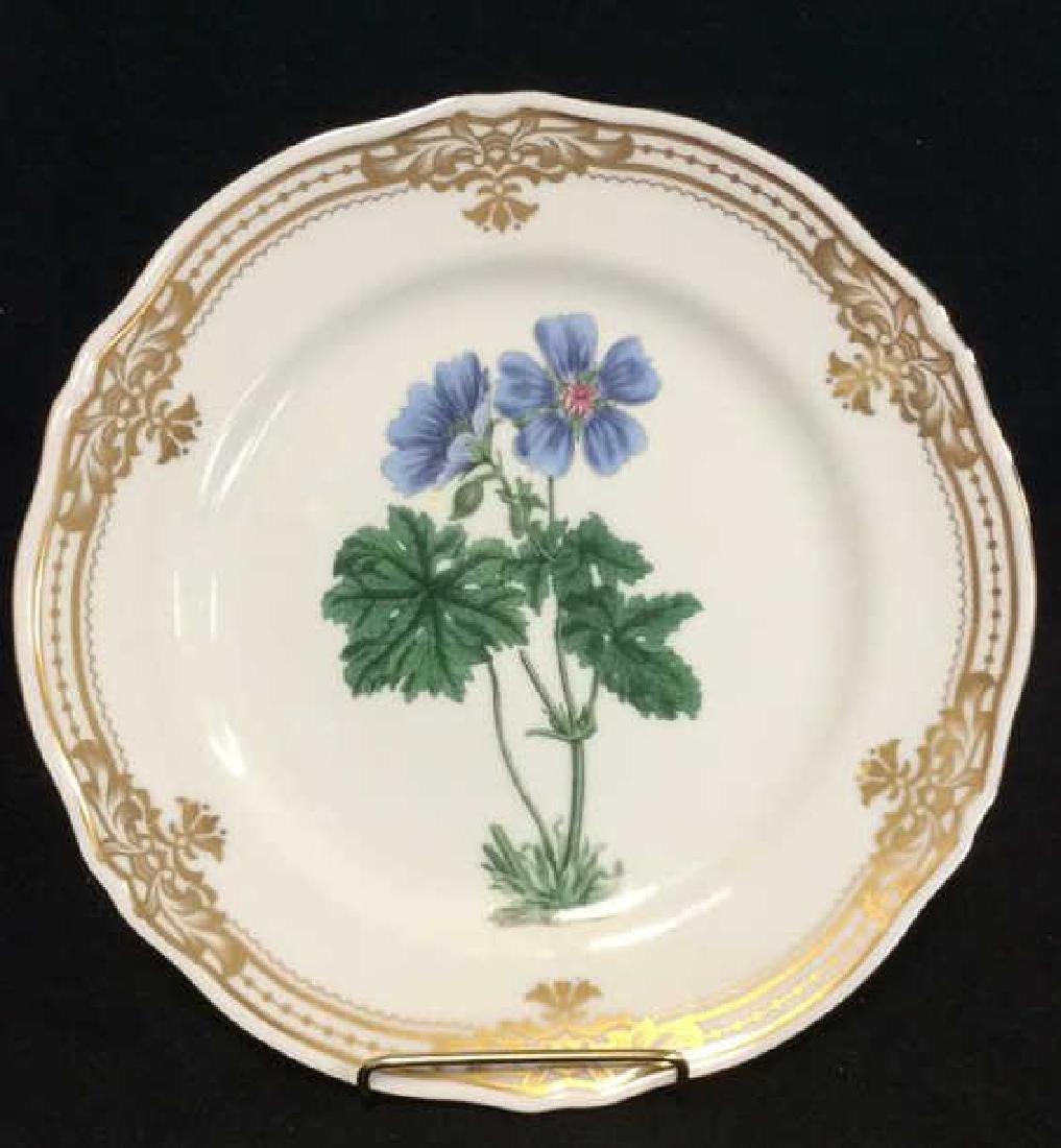 Golden Botanical ANDREAbySADEK Decorative Plate