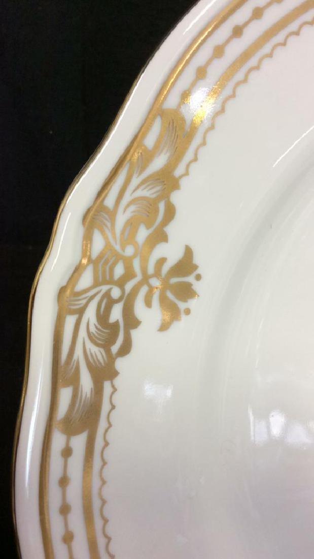 Golden Botanical ANDREAbySADEK Decorative Plate - 5
