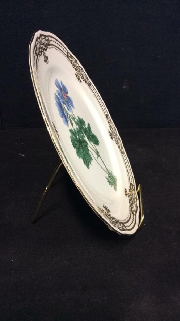 Golden Botanical ANDREAbySADEK Decorative Plate - 6