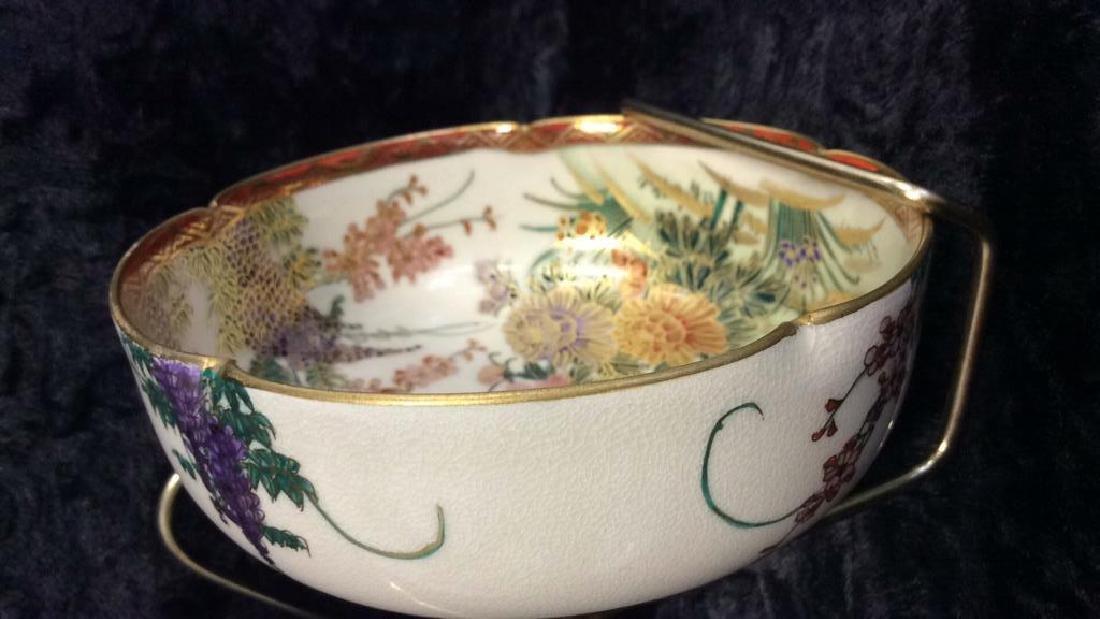SOKO SATSUMA Hand Painted Bowl - 3