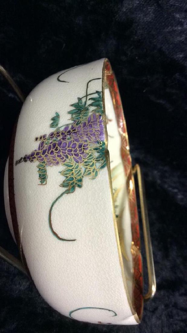 SOKO SATSUMA Hand Painted Bowl - 4