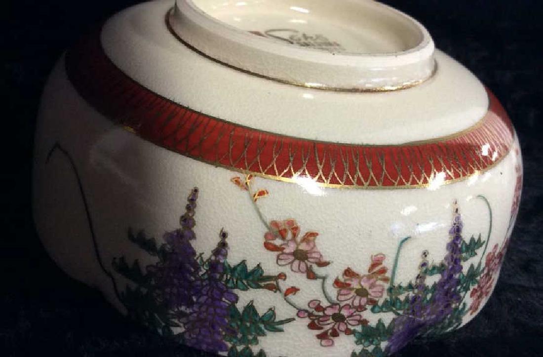 SOKO SATSUMA Hand Painted Bowl - 8