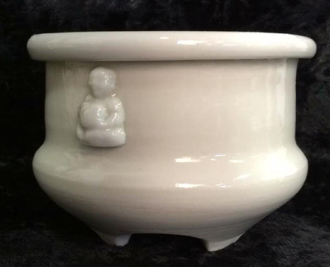 Chinese Vintage Grey Toned Stoneware Bowl