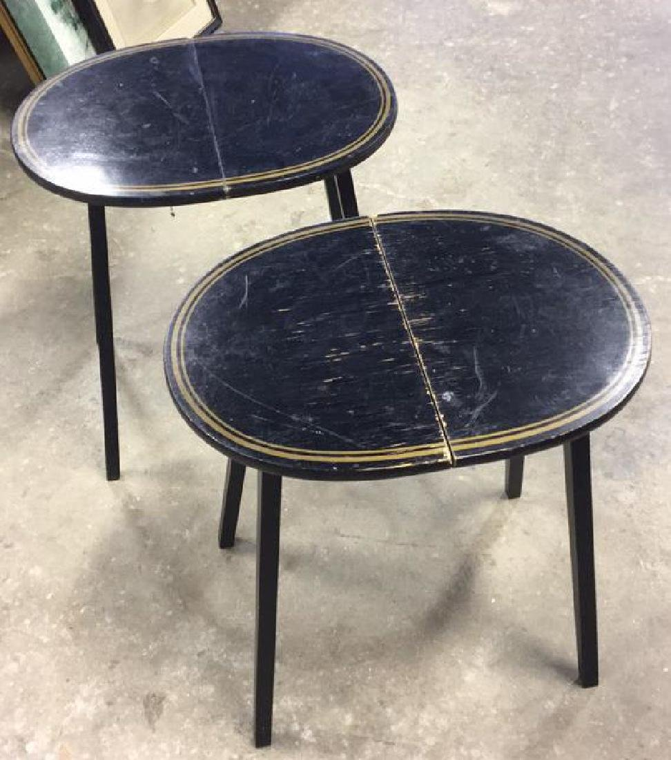 Pair Of Vintage Folding Side Tables