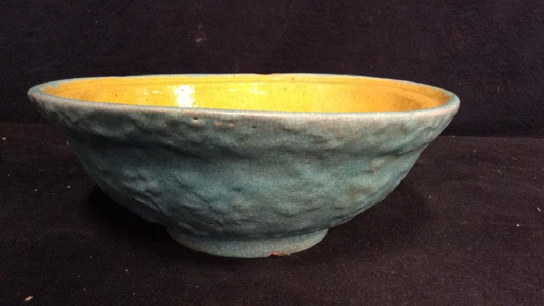 Lot 3 Vintage Assorted Stoneware Bowls - 3