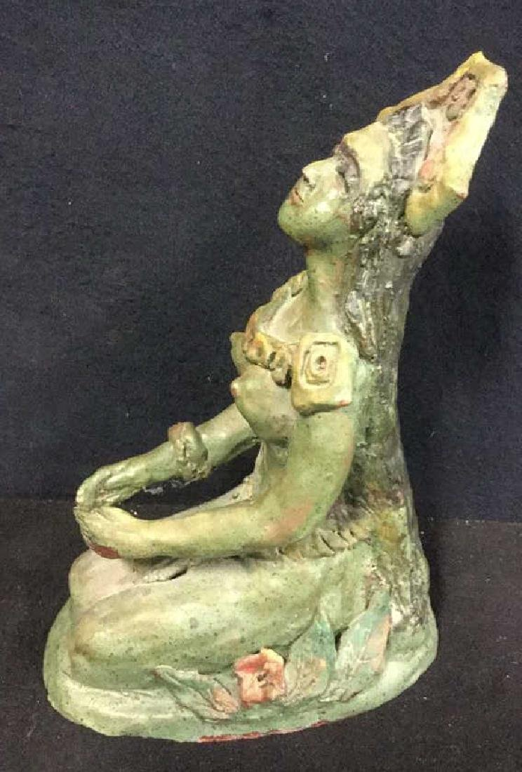 Nude Sculpture Of Central American Woman - 2