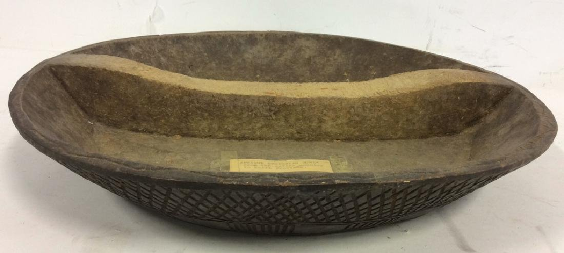 Antique Ethiopian Bowl From Kaffa Province