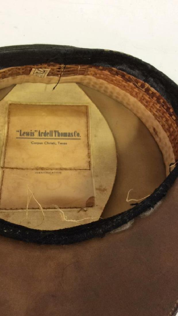 Lewis Ardell Thomas Co Military Cover Hat - 8