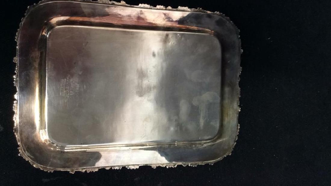 Wallace Baroque Silver Plate Cordial Set - 5