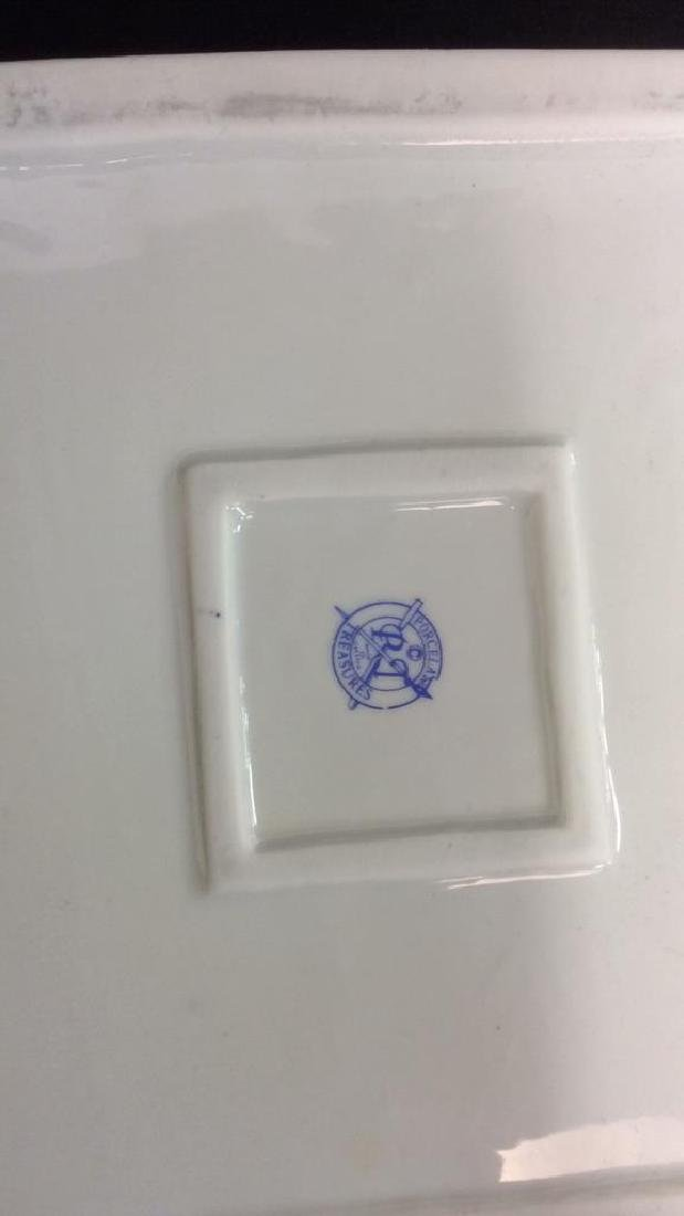 Lot 3 Assorted Porcelain Tabletop Accessories - 10