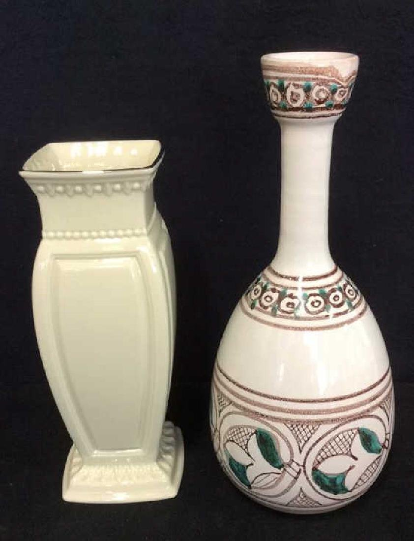 Lot 3 Assorted Porcelain Tabletop Accessories - 2