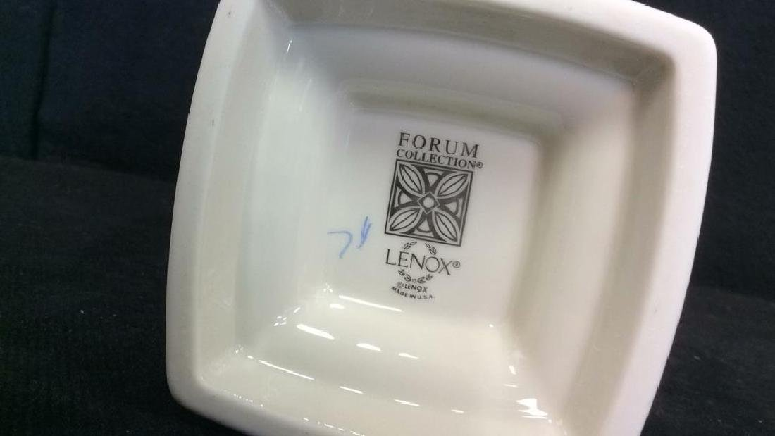 Lot 3 Assorted Porcelain Tabletop Accessories - 4