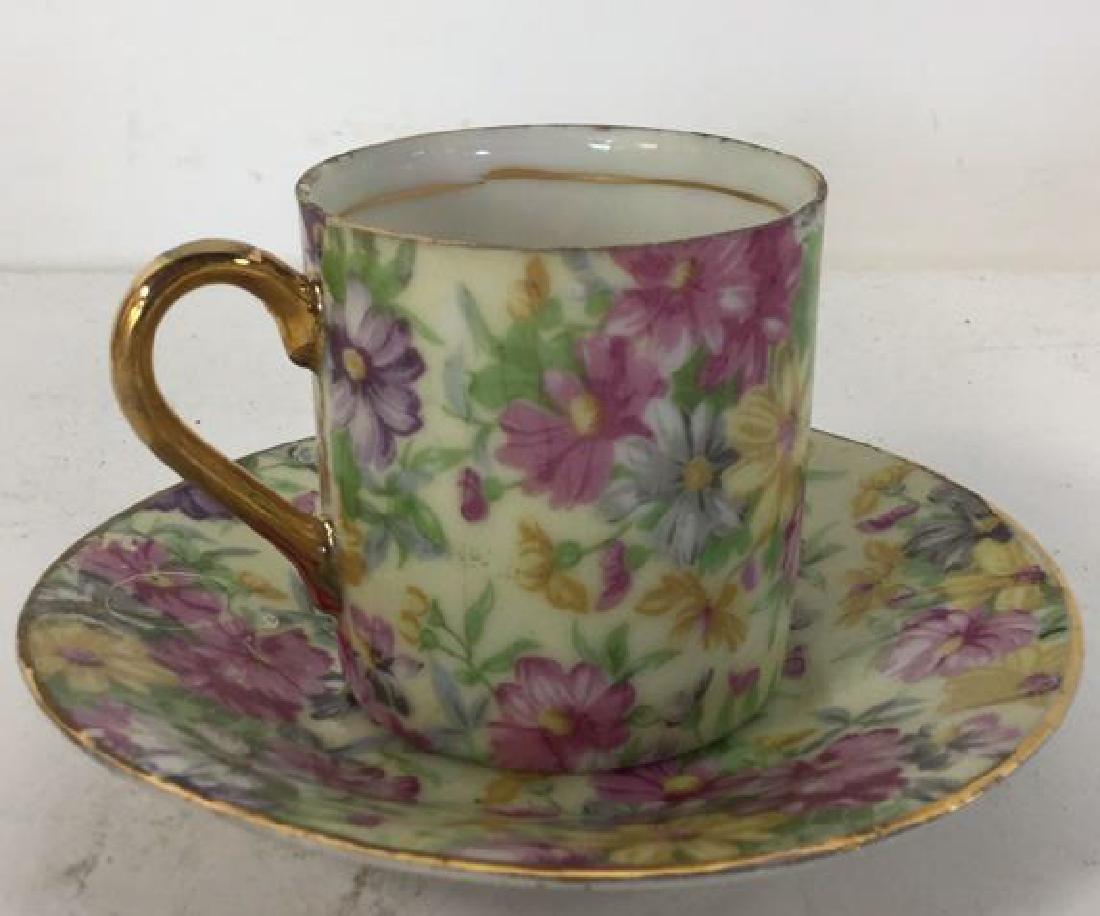 Set 12 ROYAL CROWN Porcelain Cups & Saucers - 5