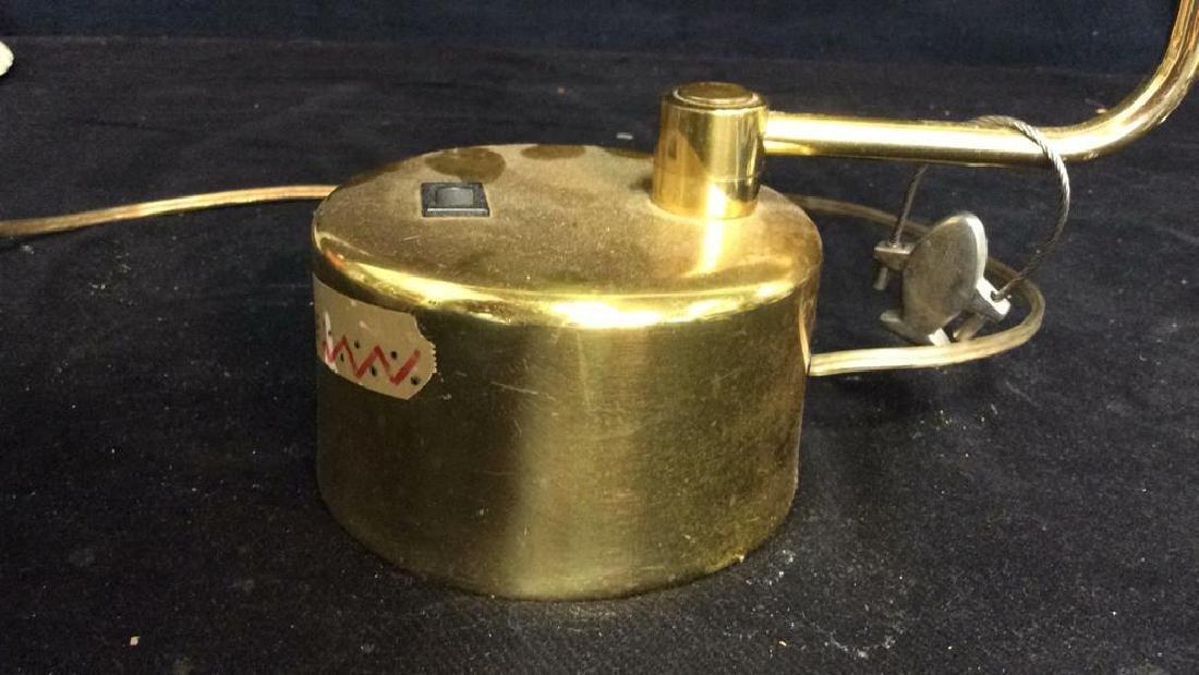 intake Gold Toned  Swing Arm Eyeball Lamp - 5