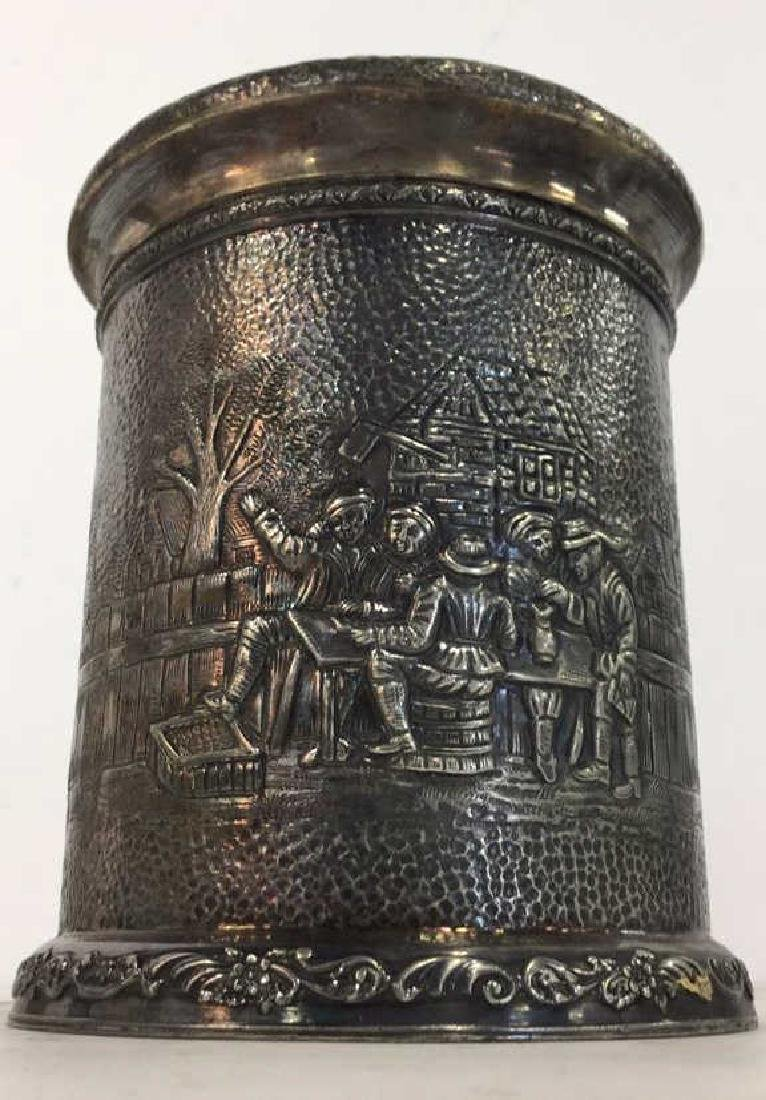 INTL SILVER CO Intricately Detailed Lidded Jar - 2
