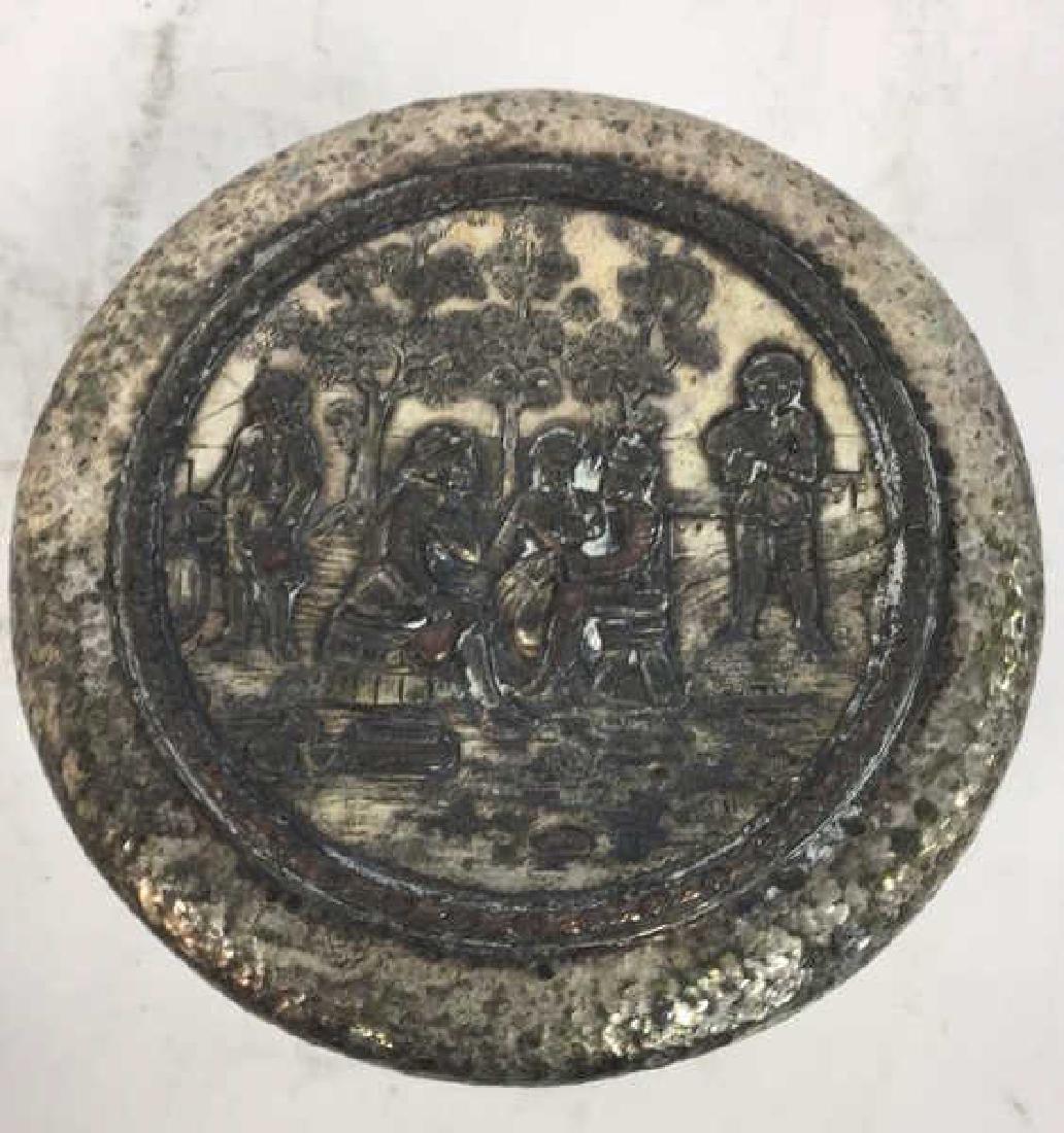 INTL SILVER CO Intricately Detailed Lidded Jar - 4