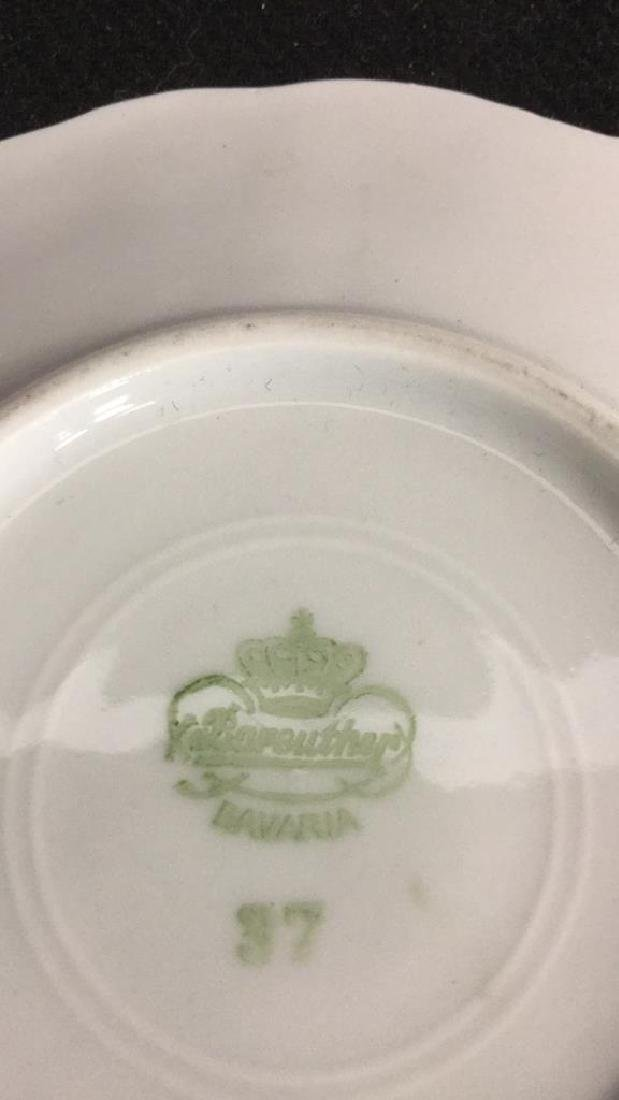 Lot 3 Vintage Porcelain Coffee Pot And Cup - 10