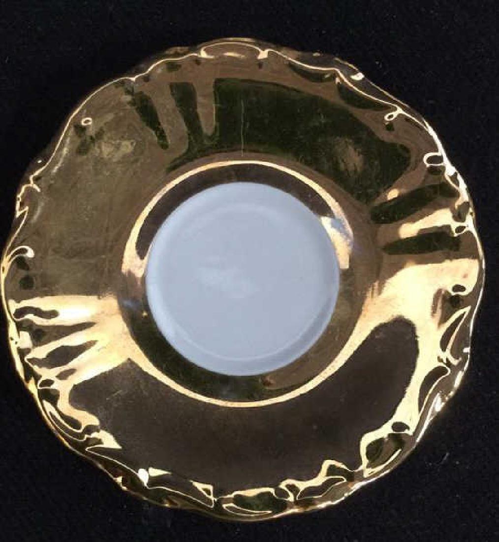 Lot 3 Vintage Porcelain Coffee Pot And Cup - 7