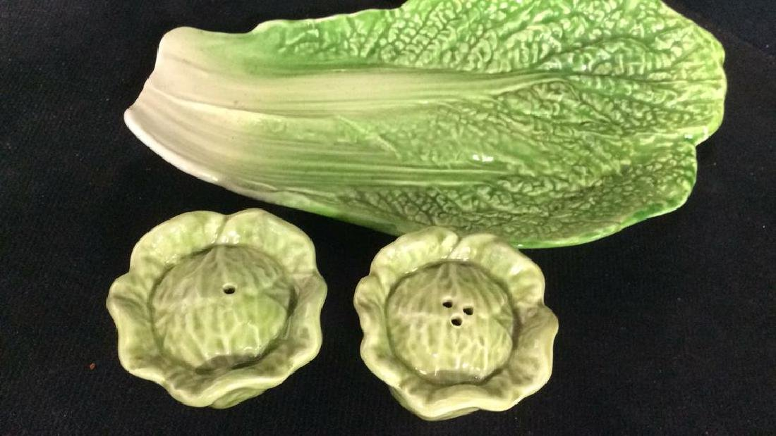 Lot 11 Porcelain Fruit&Veggies Tabletop Acc - 8
