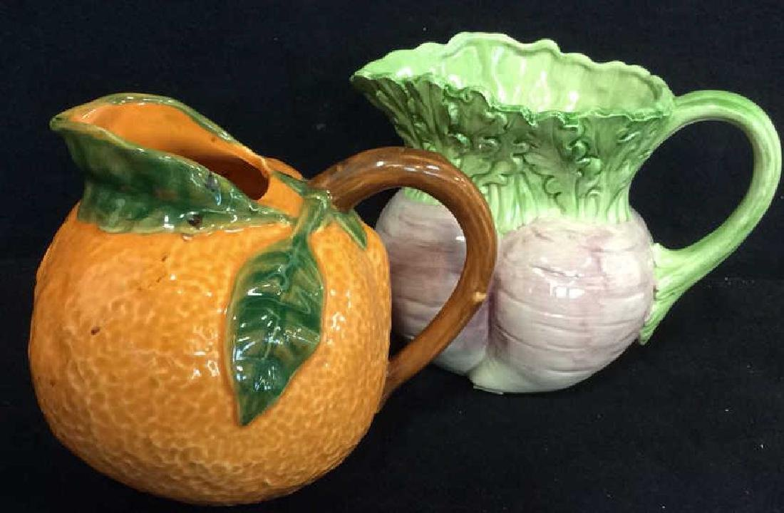 Fruit Figural Vintage Collectible Pitchers