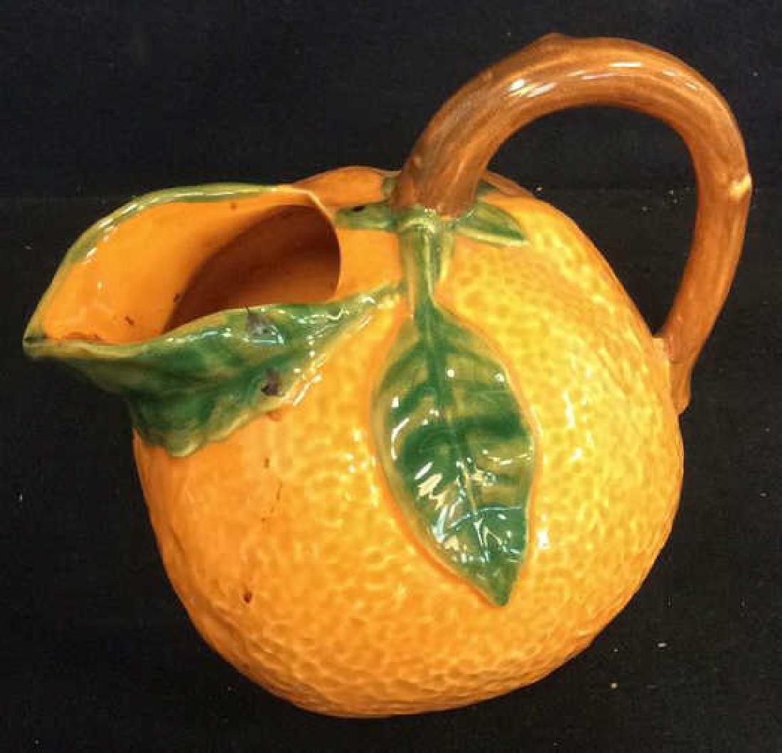 Fruit Figural Vintage Collectible Pitchers - 7