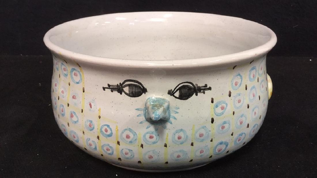Lot 3 Vintage Danmark Rorstrand Italian Pottery - 3