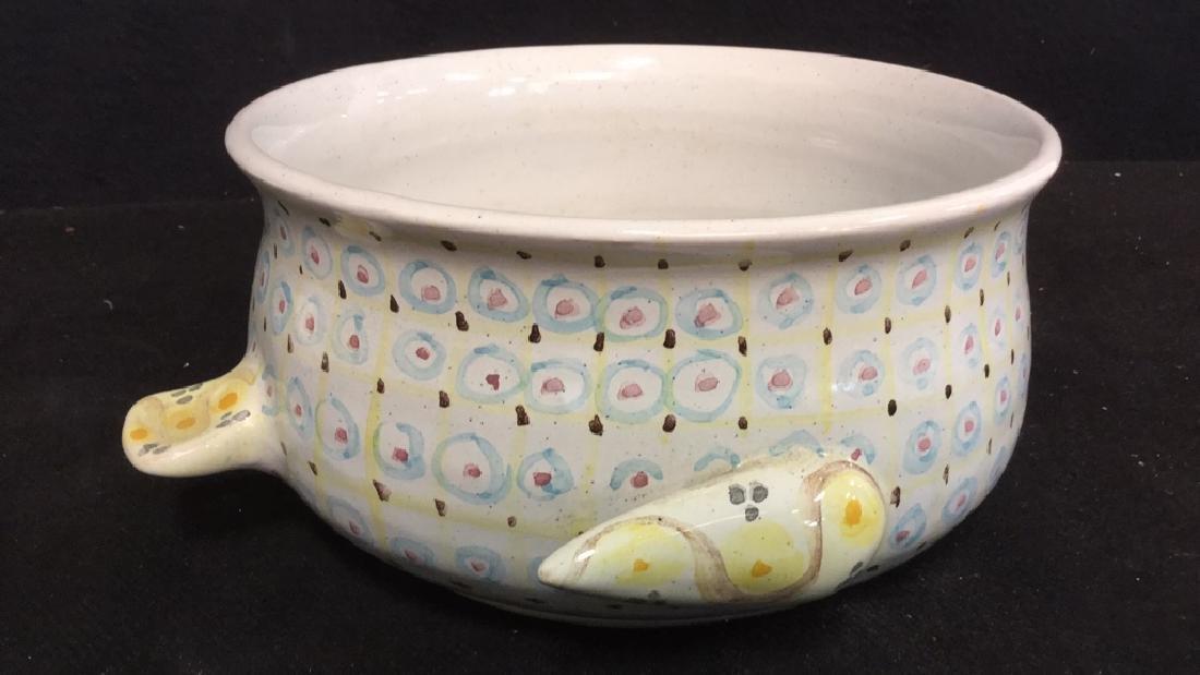Lot 3 Vintage Danmark Rorstrand Italian Pottery - 4