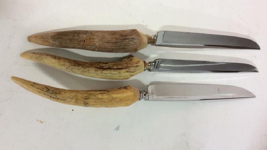 Lot 7 SOLINGEN Bone Handled Knives - 3
