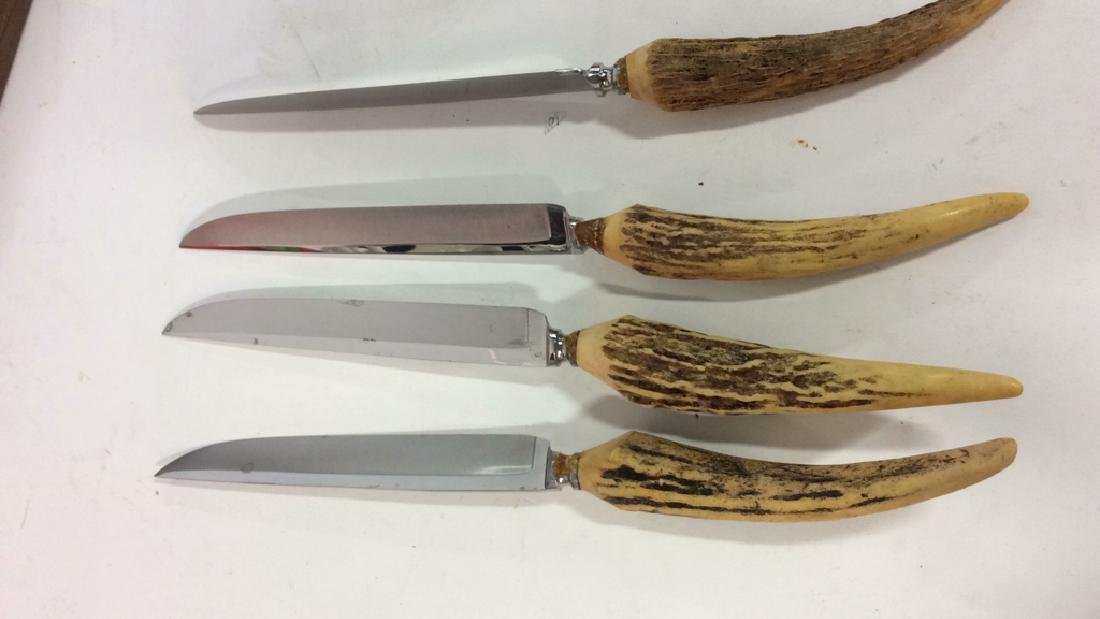 Lot 7 SOLINGEN Bone Handled Knives - 6