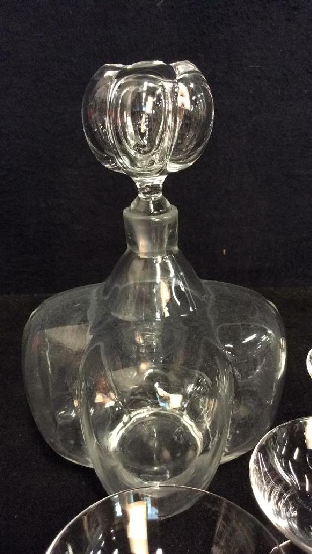 Set 6 Decanter W Glass Crystal Set - 3
