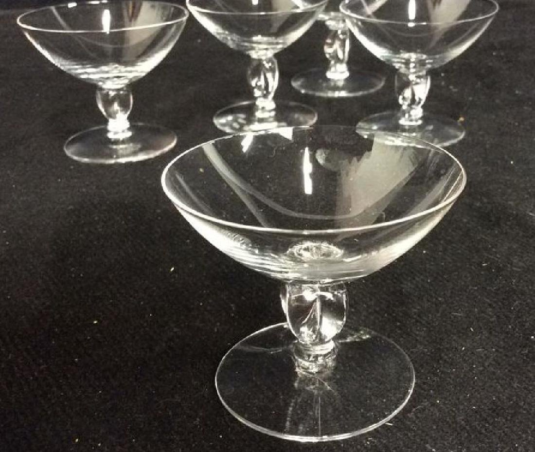 Set 6 Decanter W Glass Crystal Set - 5
