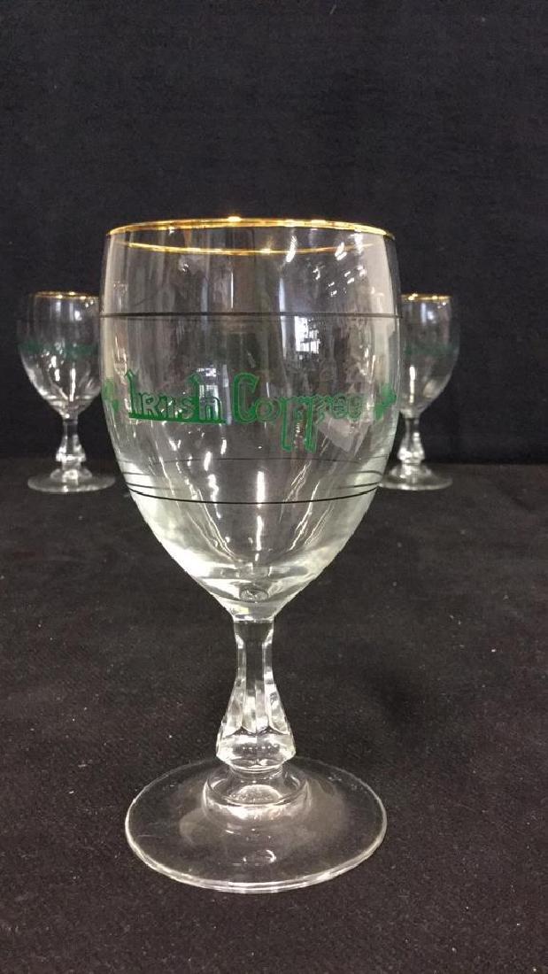 Set Six Crystal Irish Coffee Glasses, France - 2