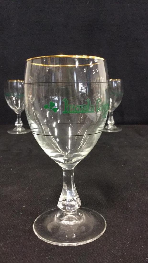 Set Six Crystal Irish Coffee Glasses, France - 3