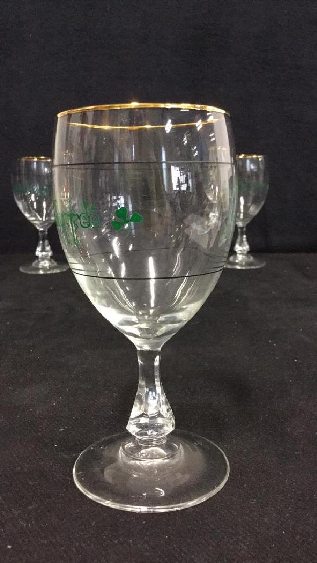 Set Six Crystal Irish Coffee Glasses, France - 4