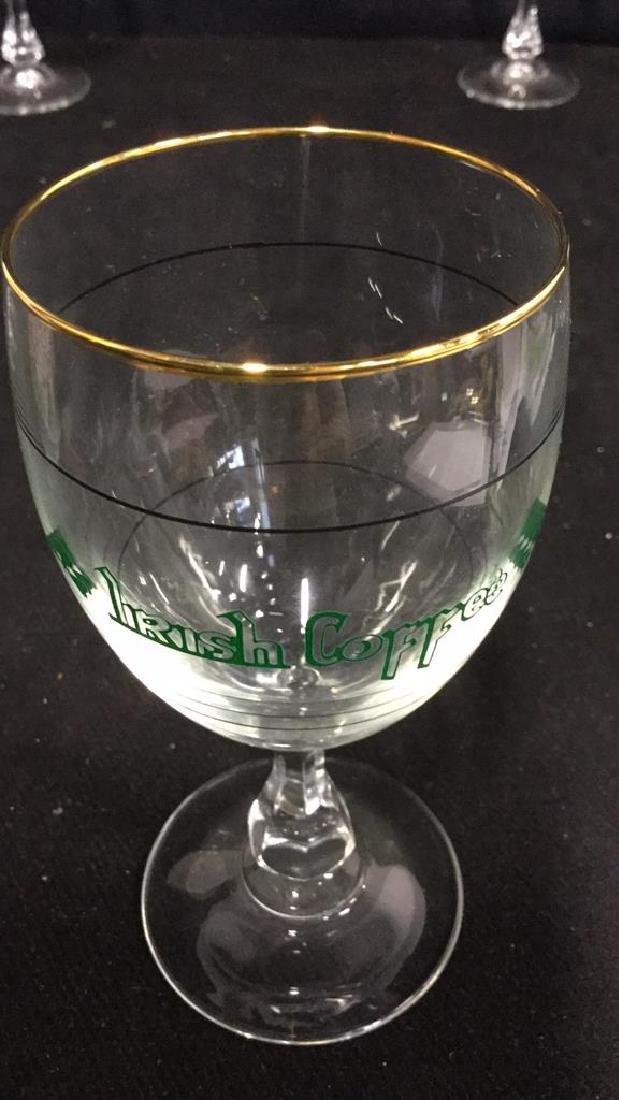 Set Six Crystal Irish Coffee Glasses, France - 5
