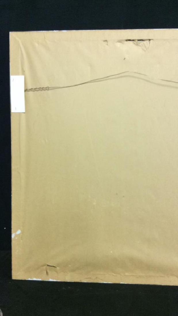Framed Art Print Woman in Grass - 6