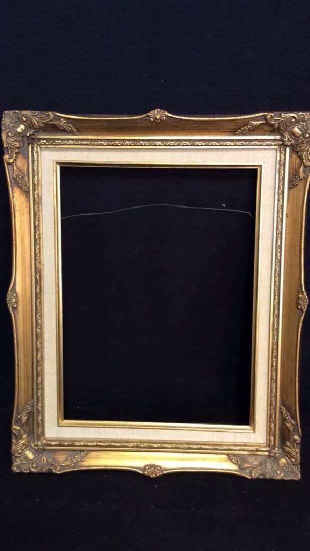 Lot 4 Assorted Wooden Art Frames - 6