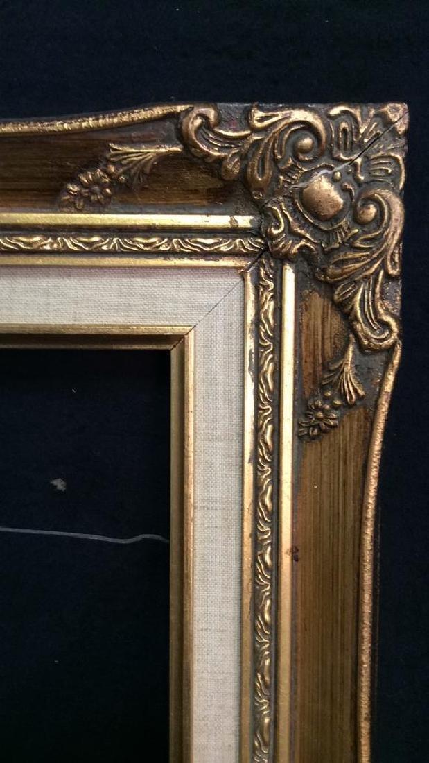 Lot 4 Assorted Wooden Art Frames - 7