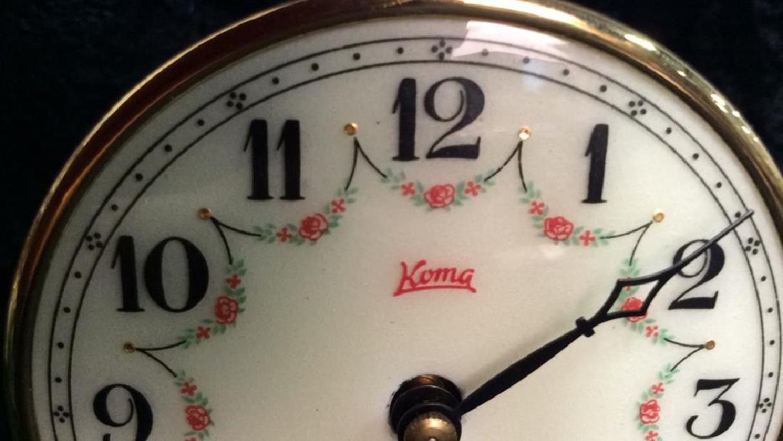 KOMA Vintage German Standing Clock - 5