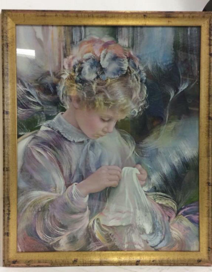 Framed Print Of Child