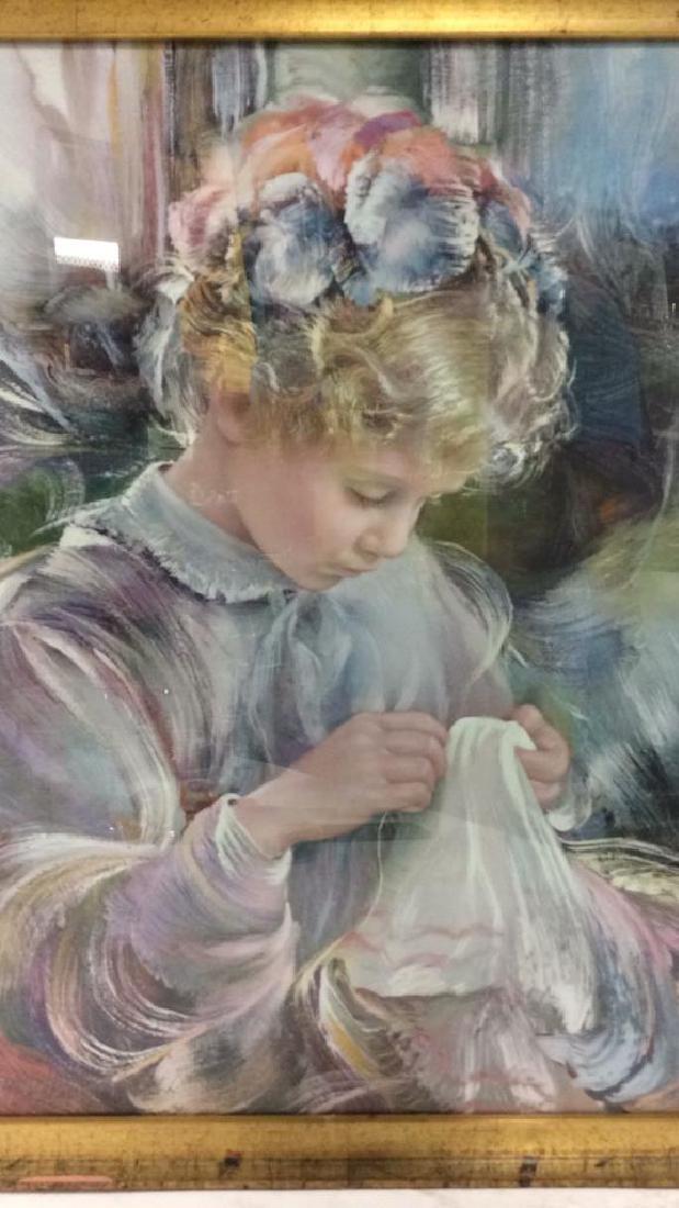 Framed Print Of Child - 2