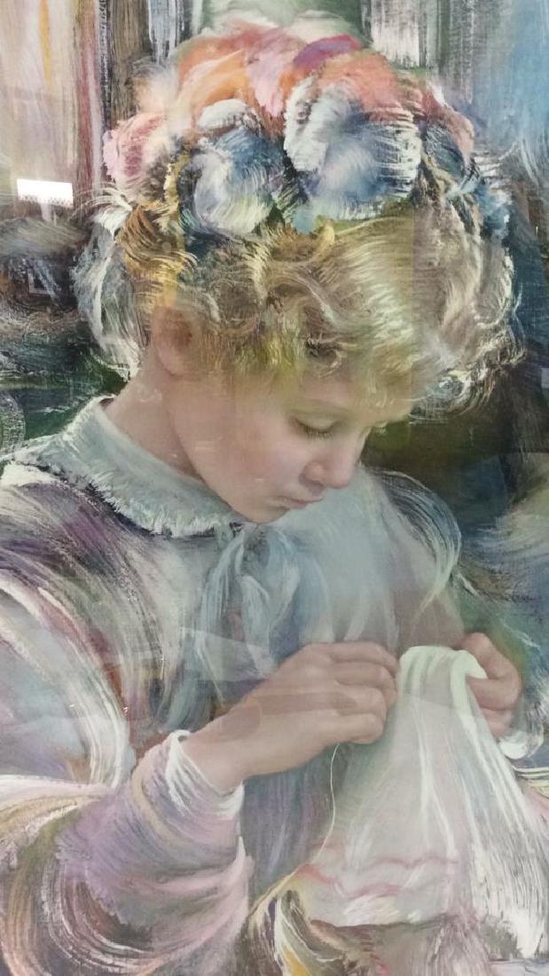 Framed Print Of Child - 3