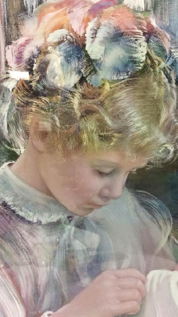 Framed Print Of Child - 4
