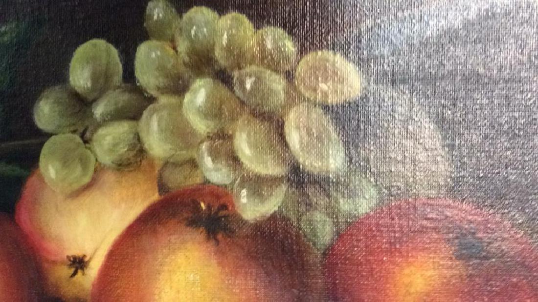 Framed Painted Fruit Still Life - 3