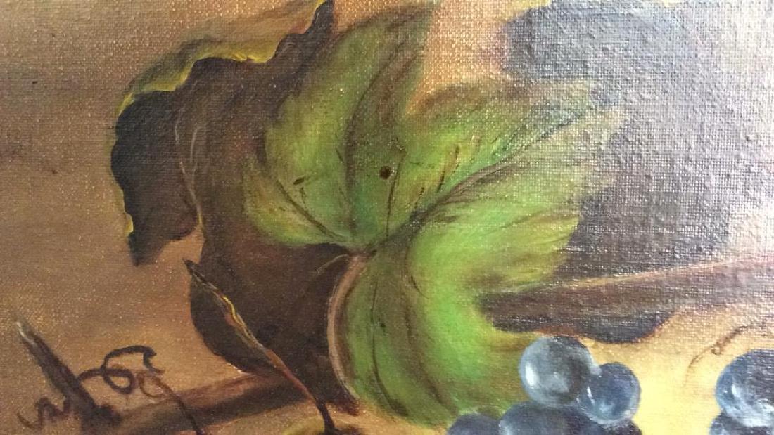 Framed Painted Fruit Still Life - 4