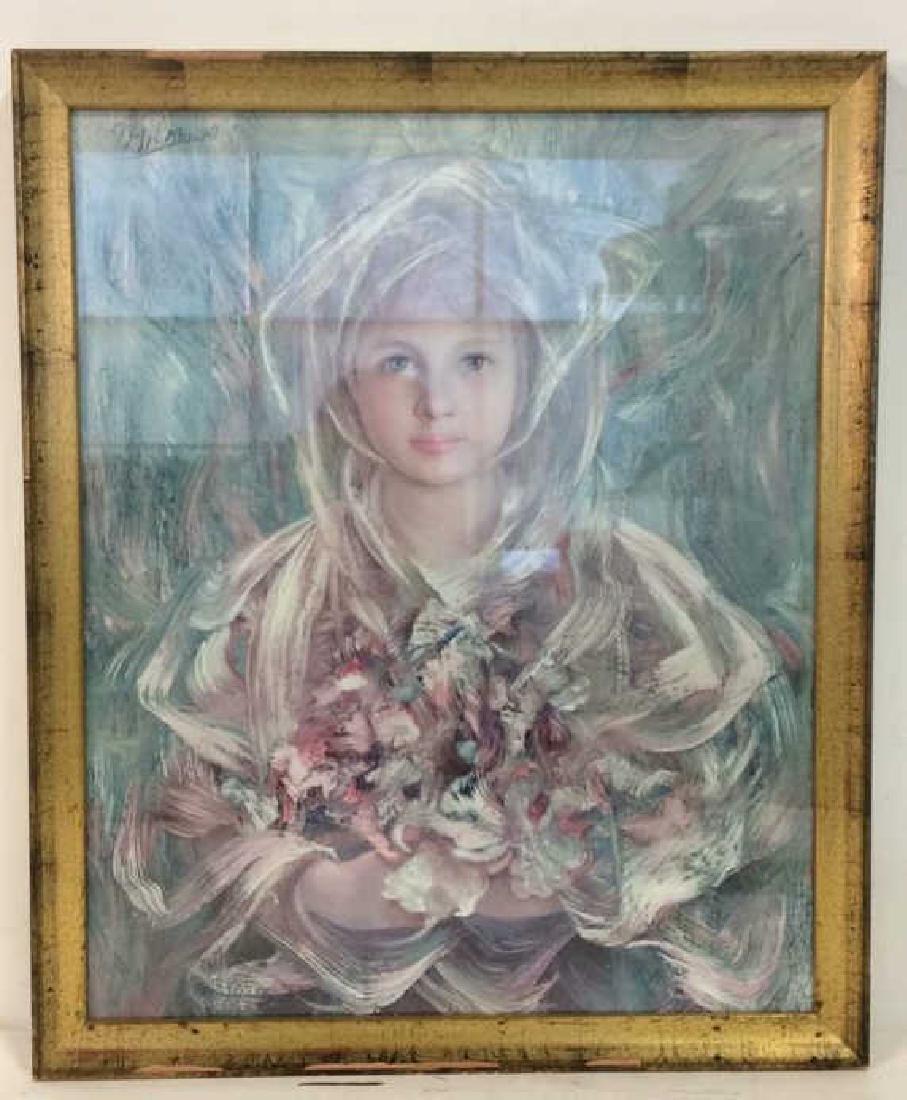 Framed Print Of Child Figure